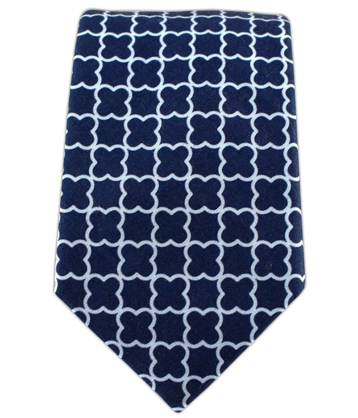 Iron Gate - Navy (Cotton) | Ties, Bow Ties, and Pocket Squares | The Tie Bar