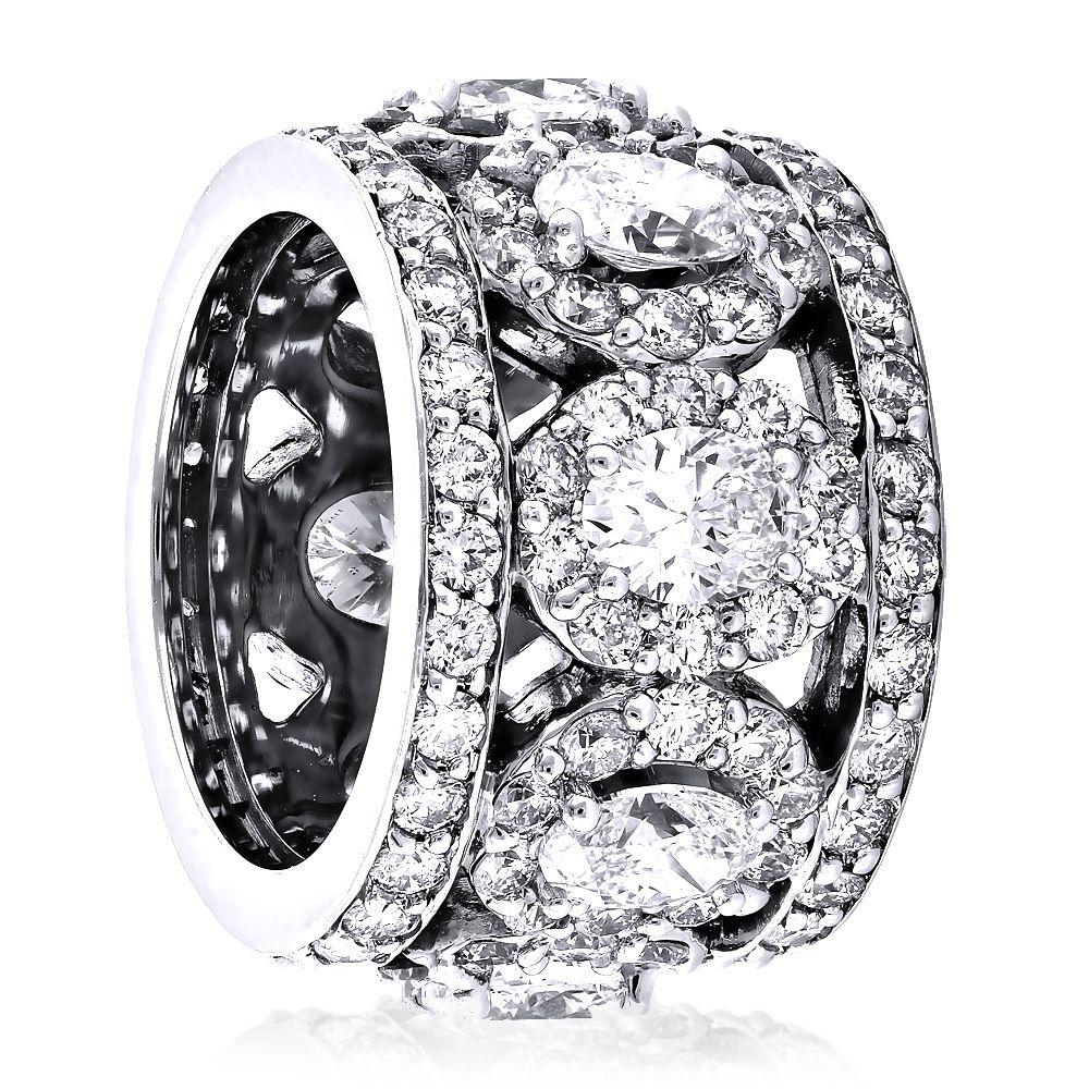 10++ Wide gold diamond wedding bands info