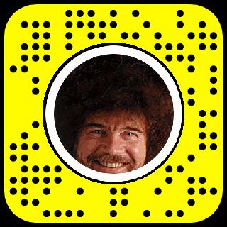 Bob Ross Painting Snapchat Lens Filter Bobross Filter Lenses Painting Snapchat Bob Ross Paintings Lens Filters Bob Ross