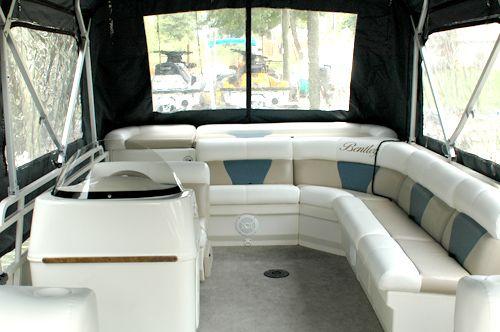 Pontoon Boat Interior
