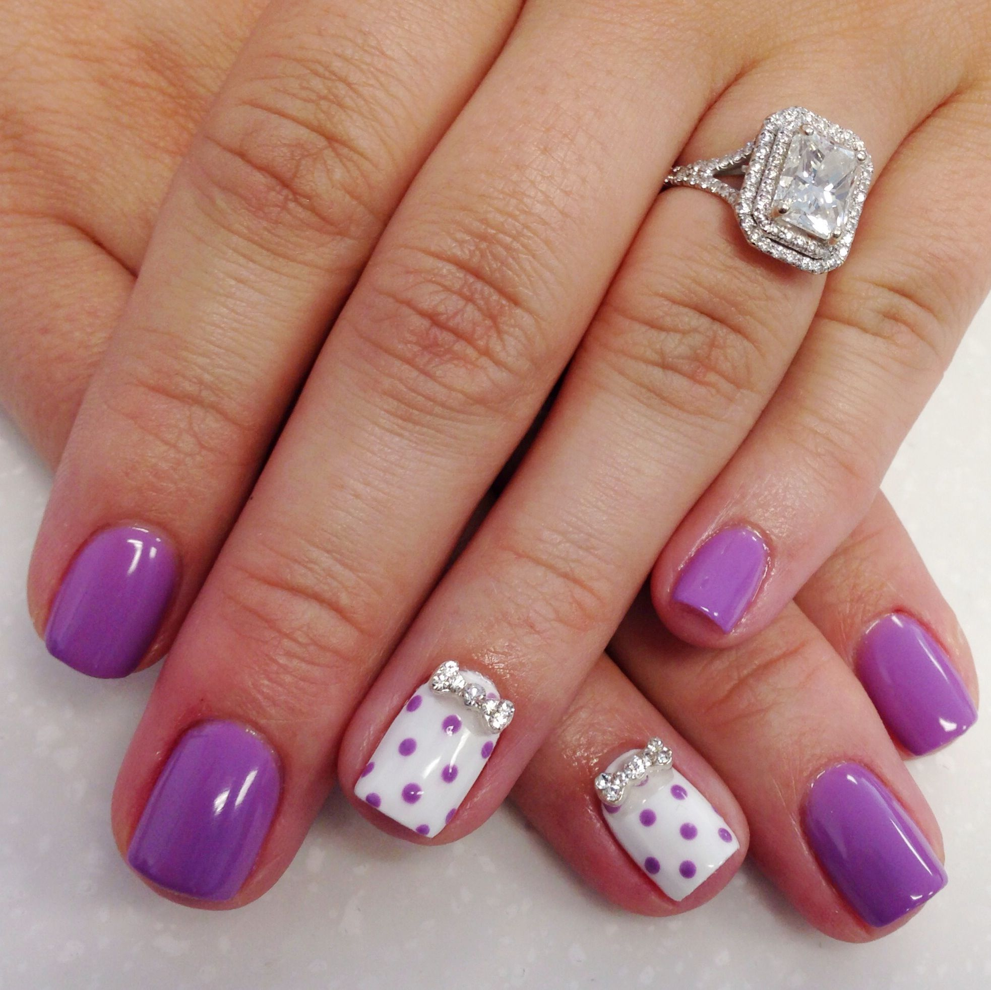 Dots Bow 3d Nail Art Nail Art Pinterest 3d Nail Art Art Nails