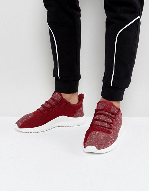 reputable site 39ad5 7f5c0 adidas Originals Tubular Shadow Sneakers In Red BY3571