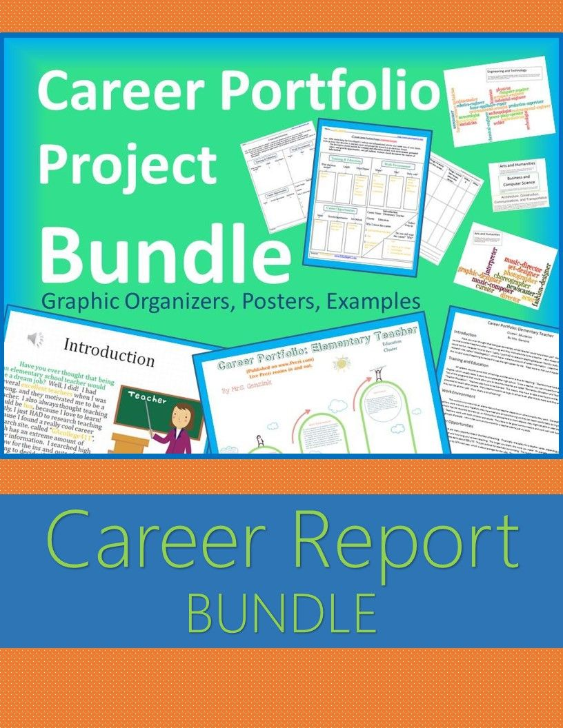 5th grade career portfolio project report bundle research report career report bundle aligned to s college and career readiness lessons and grade career portfolio project includes research graphic organizer
