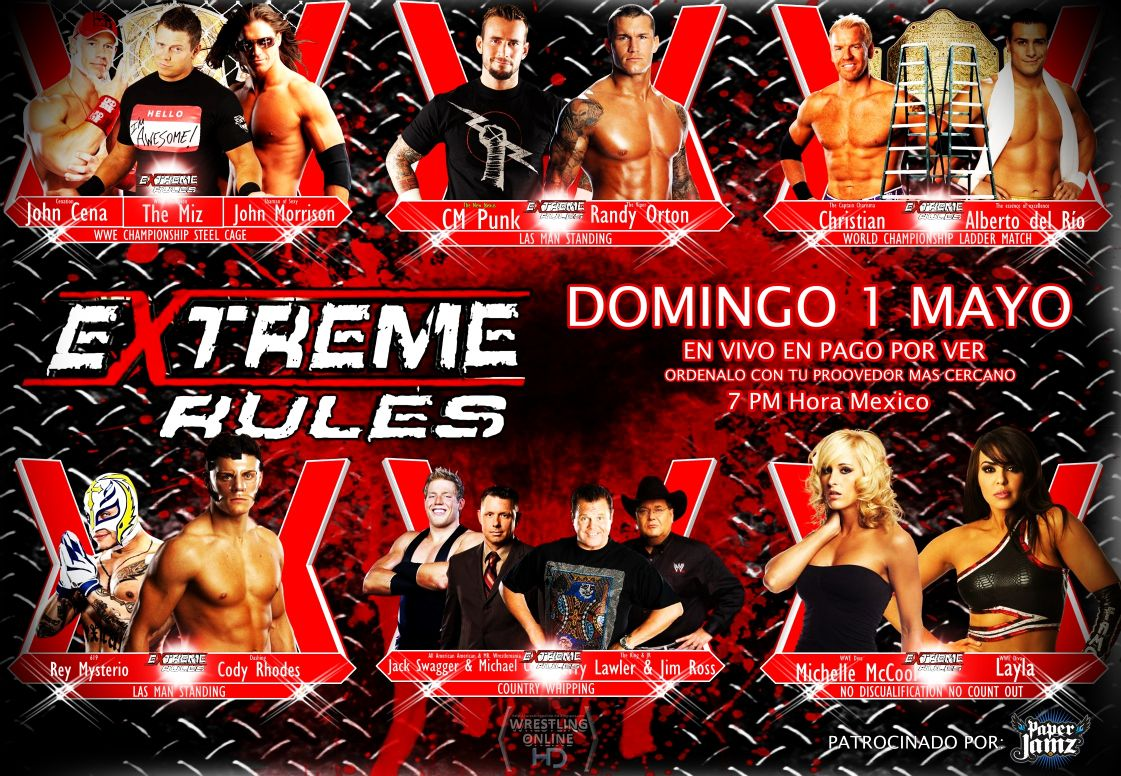 Search results for wwe extreme rules 2011 wallpaper adorable wallpapers