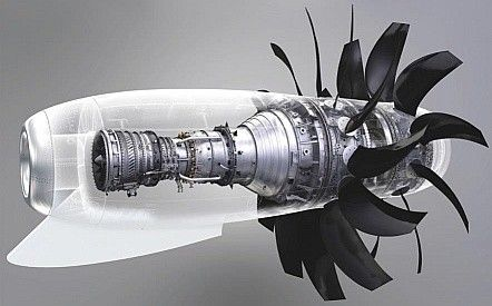Turbofan Aircraft Engine Jet Turbine Aircraft Design
