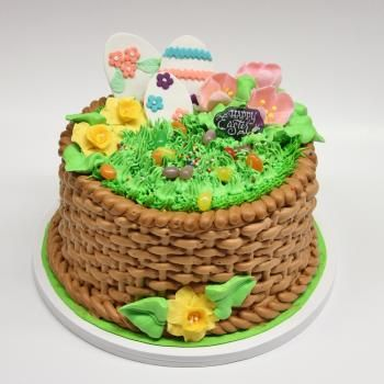Custom easter cakes portos bakery holiday favorites images of easter basket cakes remsar negle Gallery