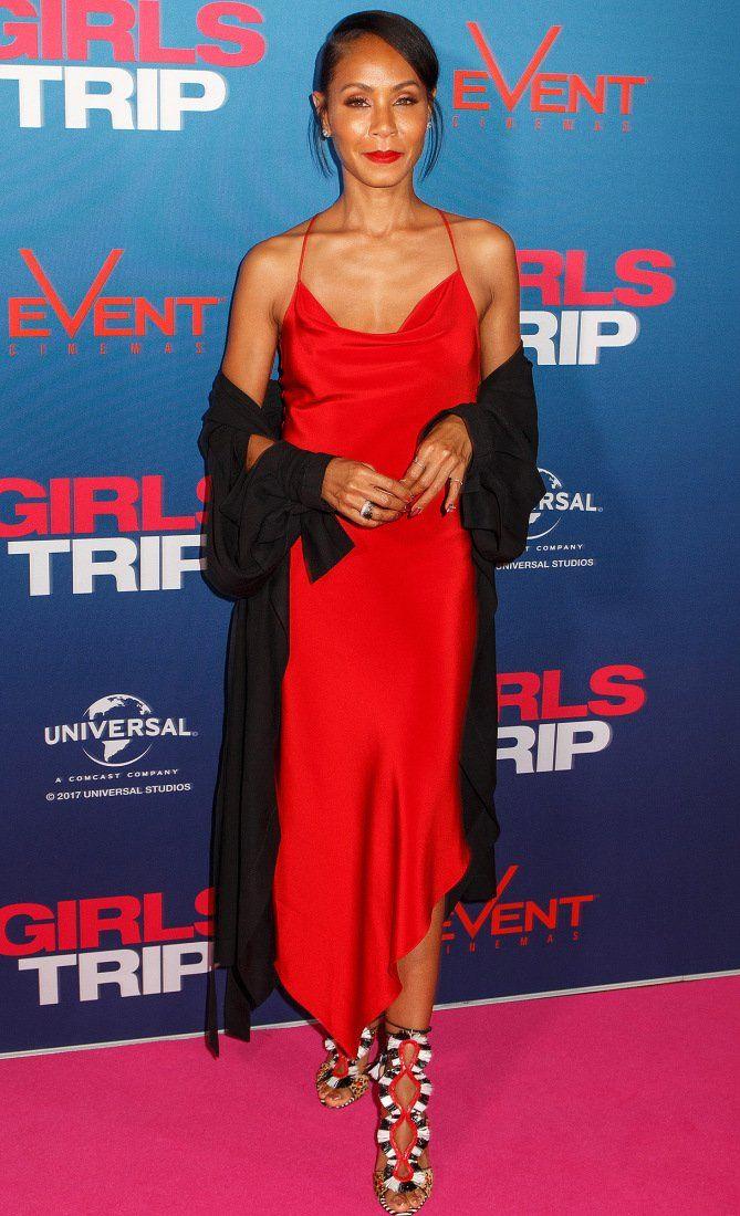 Jada Pinkett Smith Red Carpet Dresses