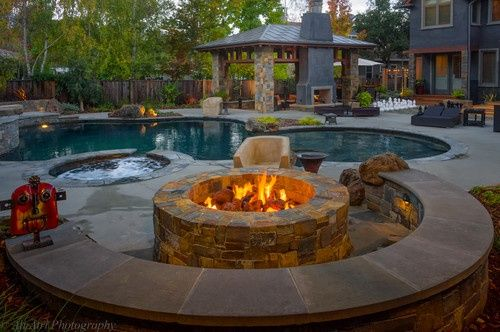 Traditional Es Backyard Fire Pit Design Pictures Remodel Decor And Ideas Page 5