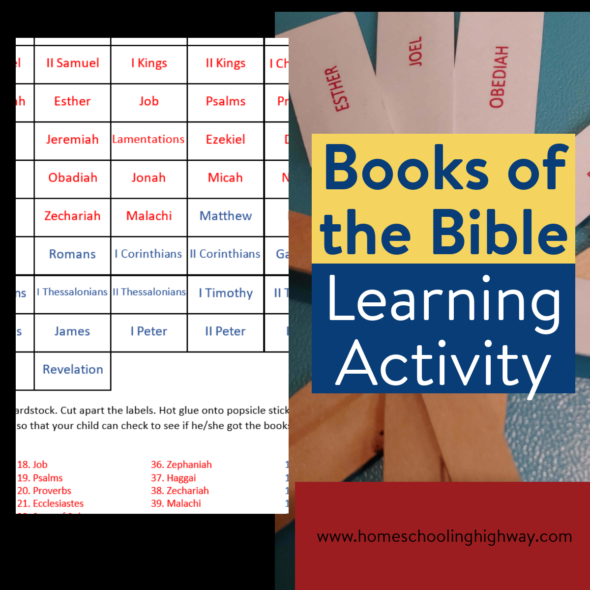 Popsicle Stick Activity Help Your Child Learn The Books