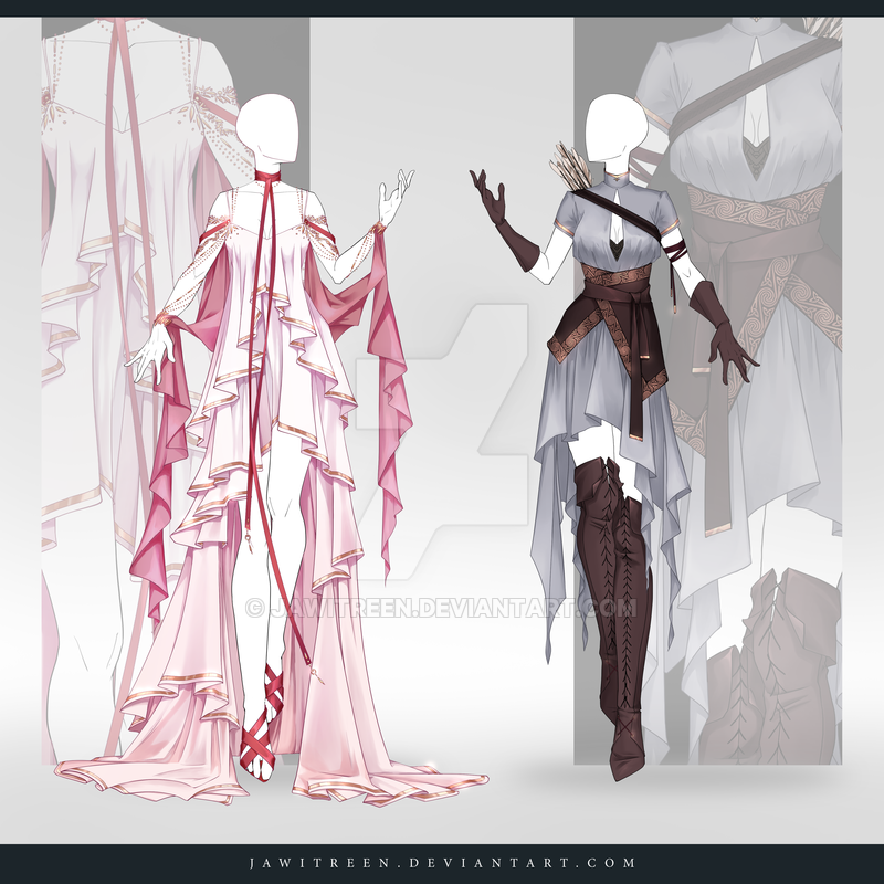 Photo of (CLOSED) Adoptable Outfit Auction 305-306 by JawitReen on DeviantArt