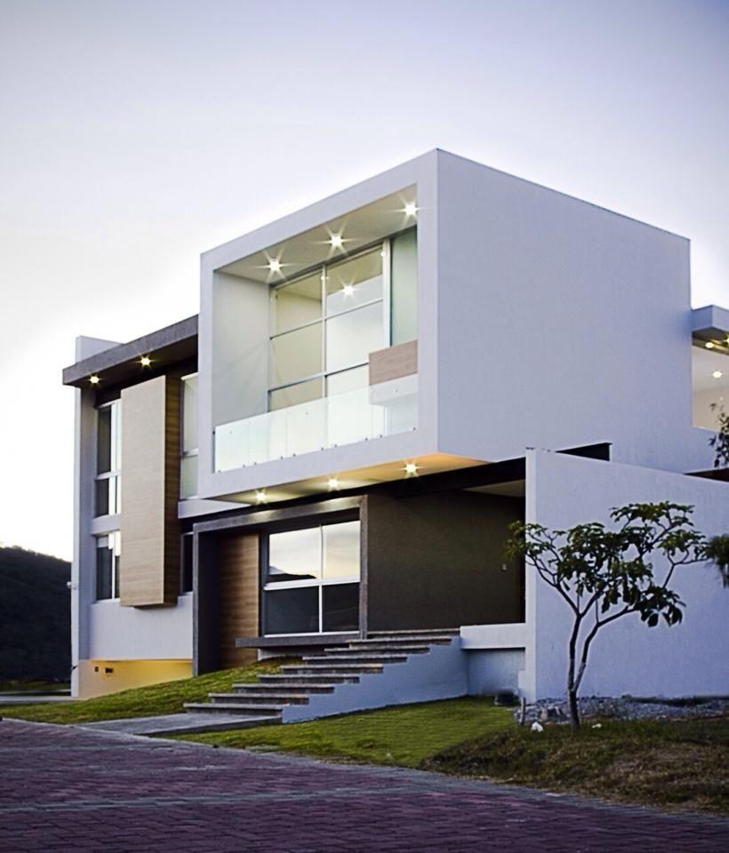 Creato arquitectos en 2019 fachadas casas minimalistas for Casa tipo minimalista