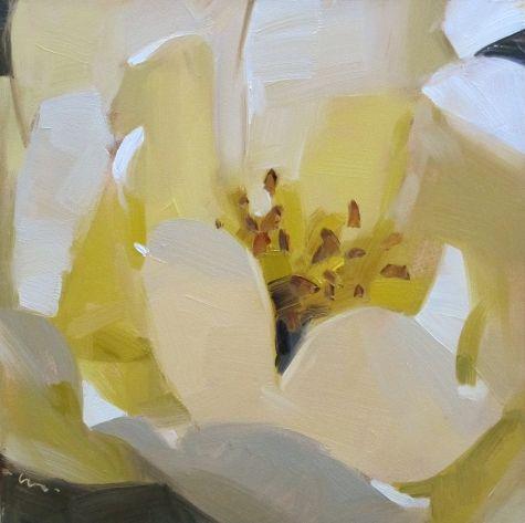 Creamy Layers, painting by artist Carol Marine