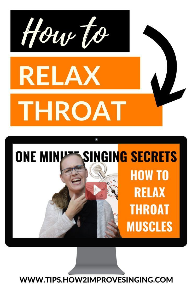 A quick and easy tip on how to relax your throat muscles. Watch this video and learn how to get quick results. #howtosing