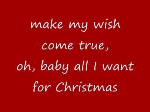 Youtube Oyte Dwra Oyte Lampakia Oyte Faghta Kai Krasia Mono Esena 8elw All I Want Is You Yours Lyrics Christmas Music Videos Lyrics