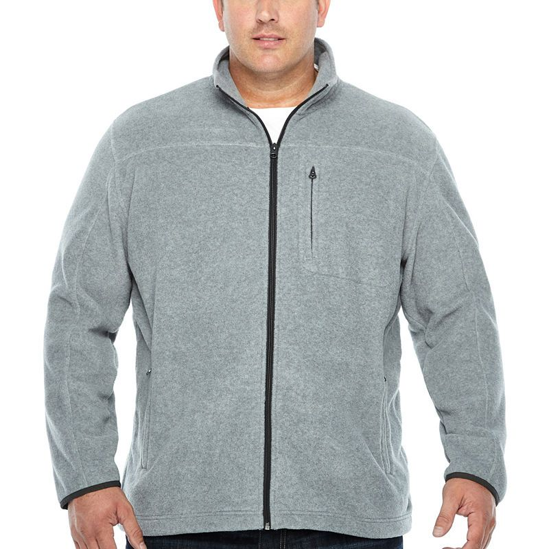 The Foundry Big & Tall Supply Co. Midweight Fleece Jacket ...