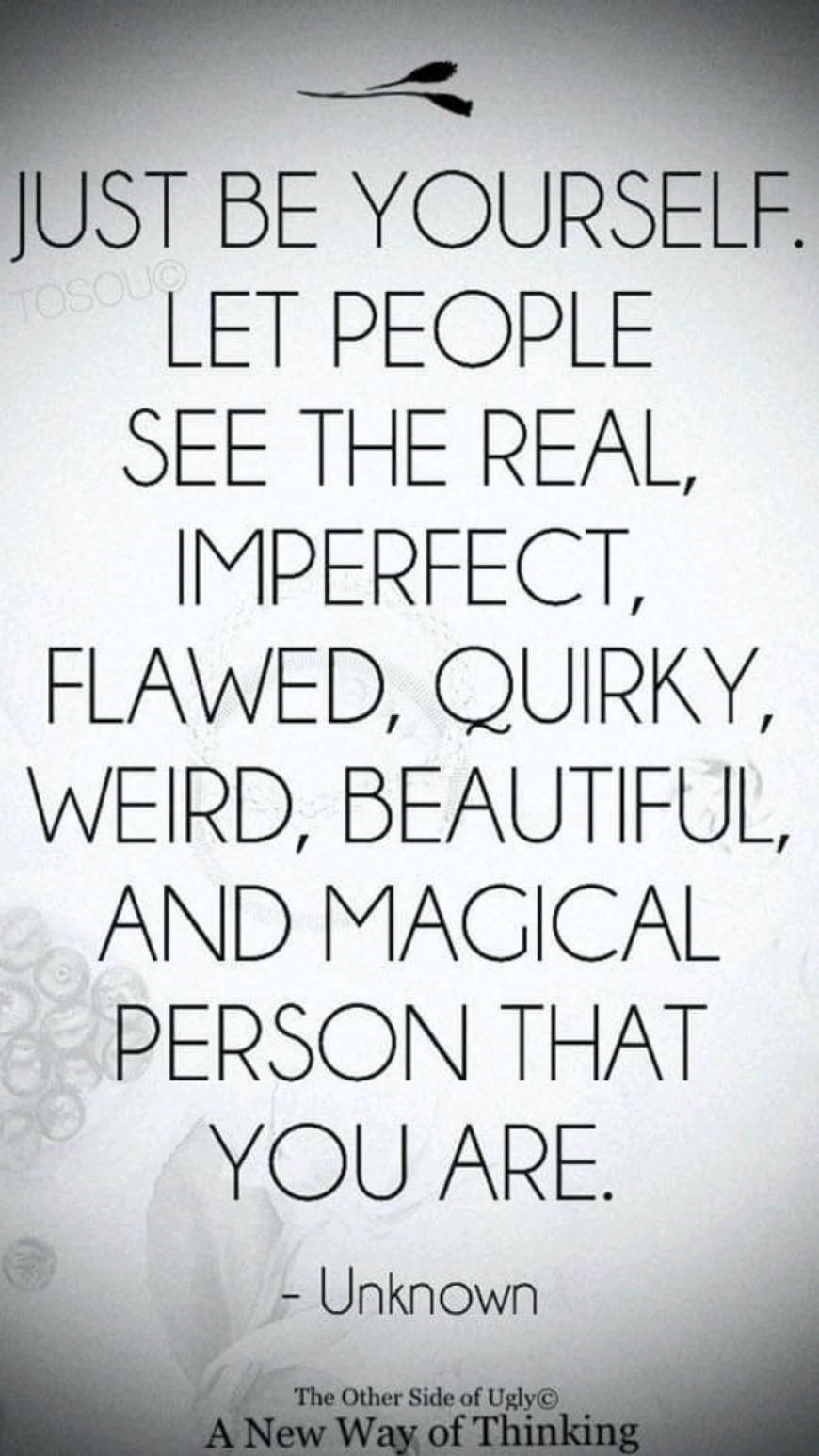 Be yourself everyone else is already taken💃show the world the real you 💯 😉
