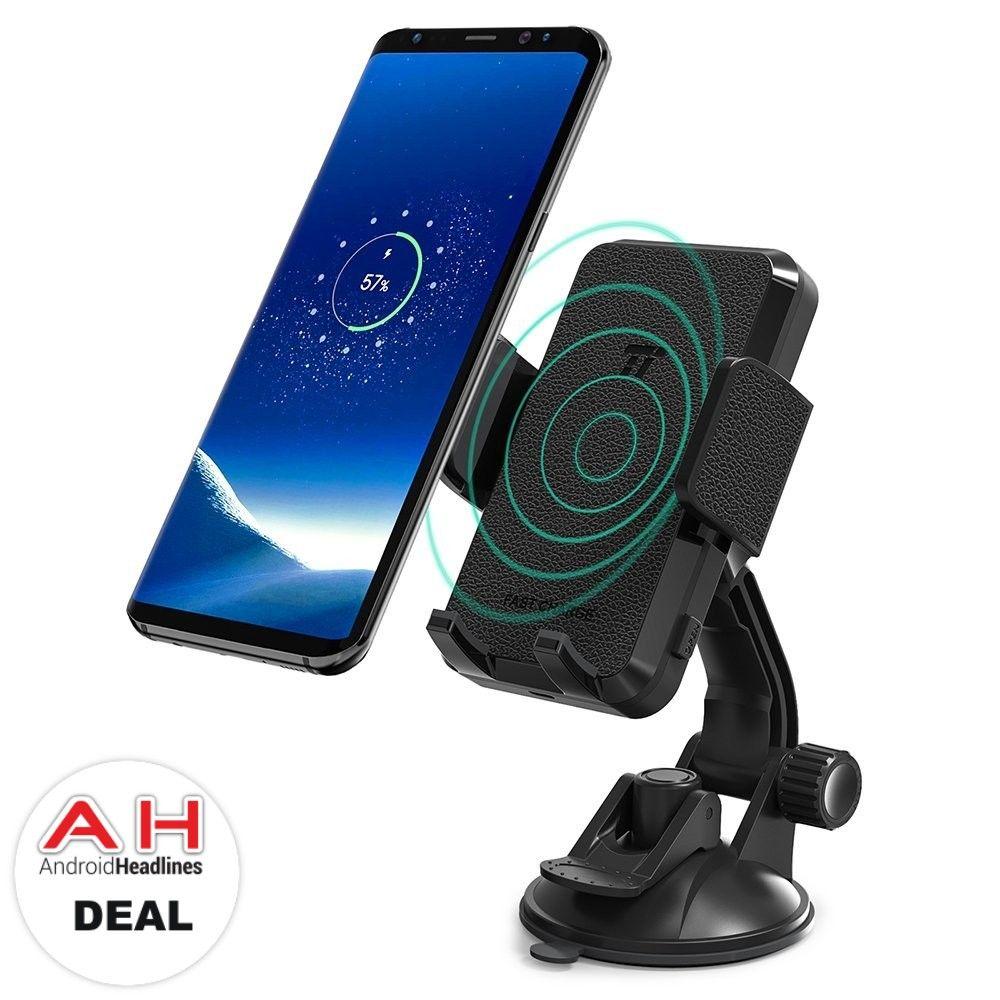 Deal taotronics car smartphone holder with 10w qi