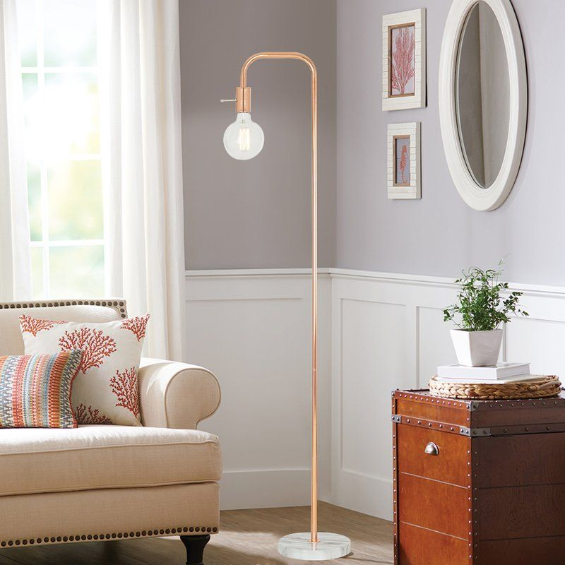 Karly 62 Quot Arched Floor Lamp Ry S Bedroom In 2019 Floor Lamp Led Floor Lamp Lighting