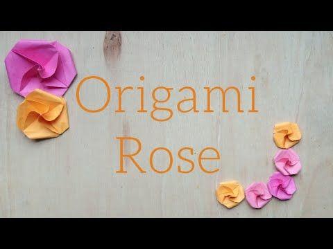 Photo of Origami rose tutorial | origami paper rose |easy origami rose