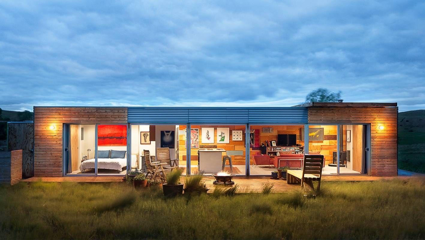 Coolest shipping container house catches everyone's eye