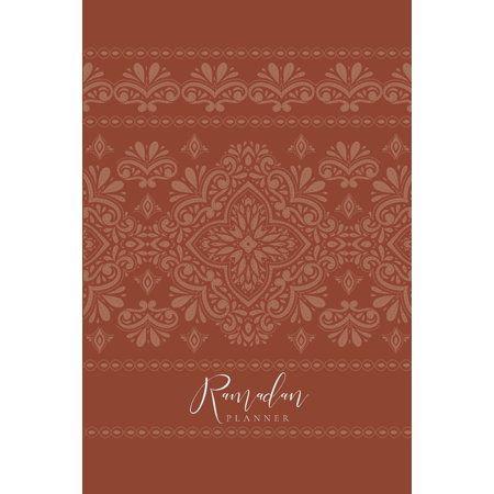 11+ Ramadan Planner Rust Paperback