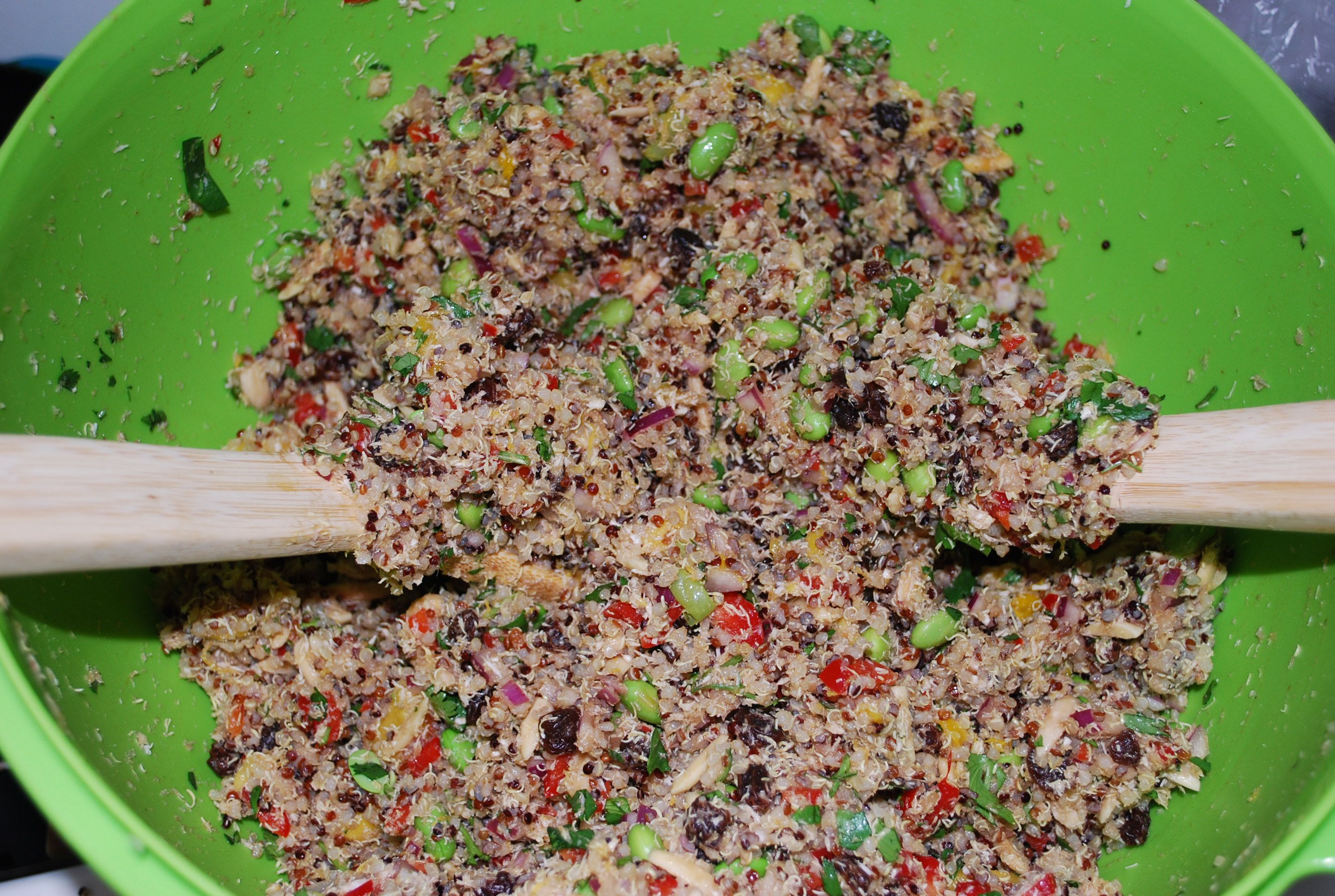 California Quinoa Salad (Whole Foods Copycat!). Must try this one!