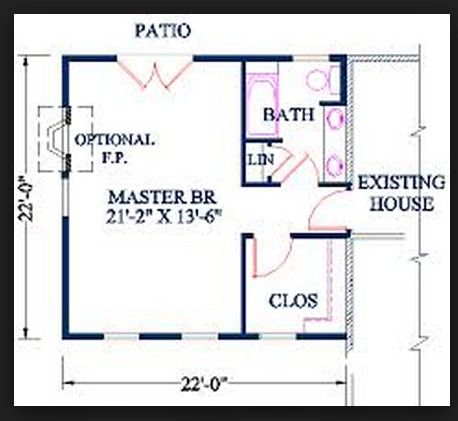 Better Arrangement Than Walking Thru Bath To Closet Master Suite Floor Plan Master Bedroom Plans Master Bedroom Layout