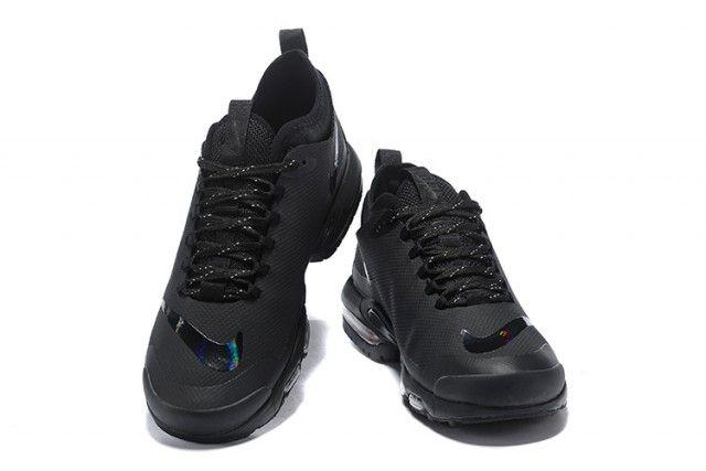 Mens Nike Air Max Plus Mercurial TN Triple Black AQ0242 001Running ...