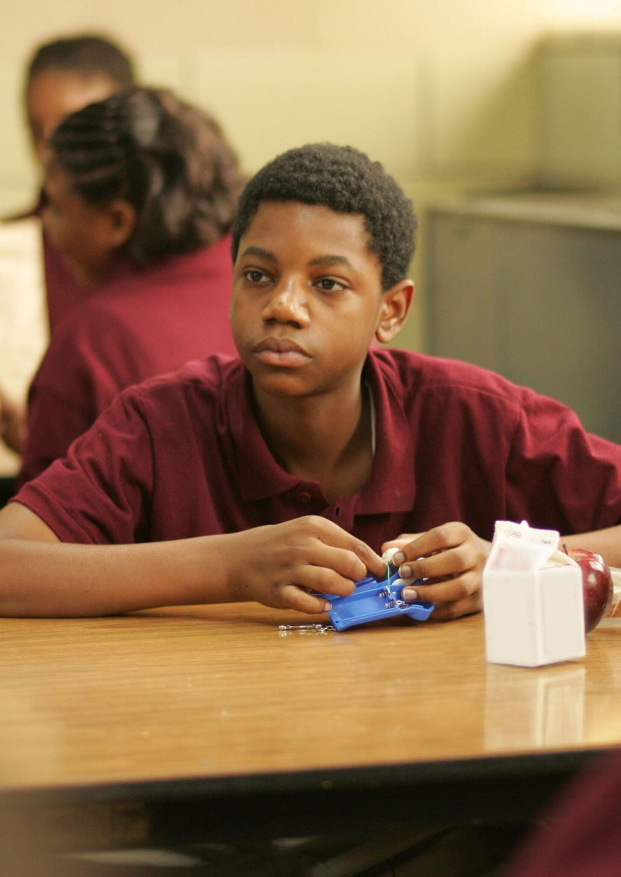"""Jermaine Crawford as Duquan """"Dukie"""" Weems in The Wire ..."""