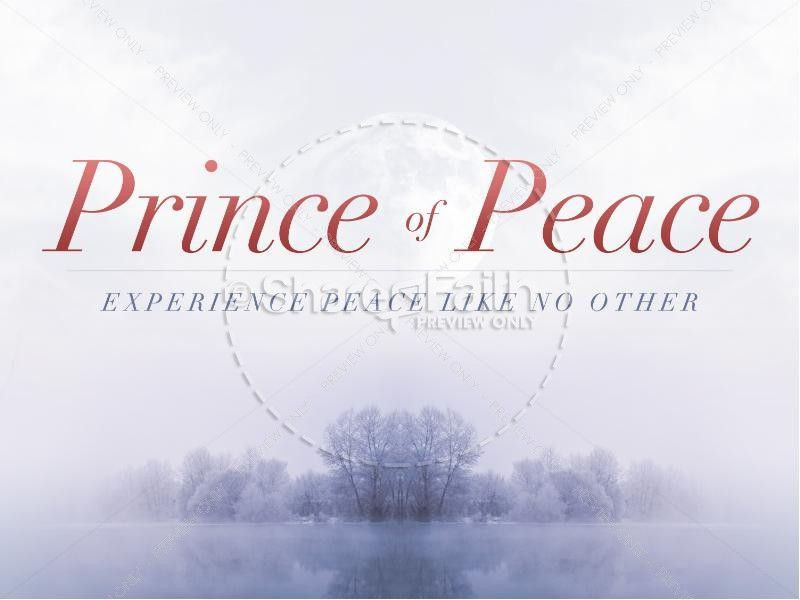 prince of peace christmas sermon powerpoint top. Black Bedroom Furniture Sets. Home Design Ideas