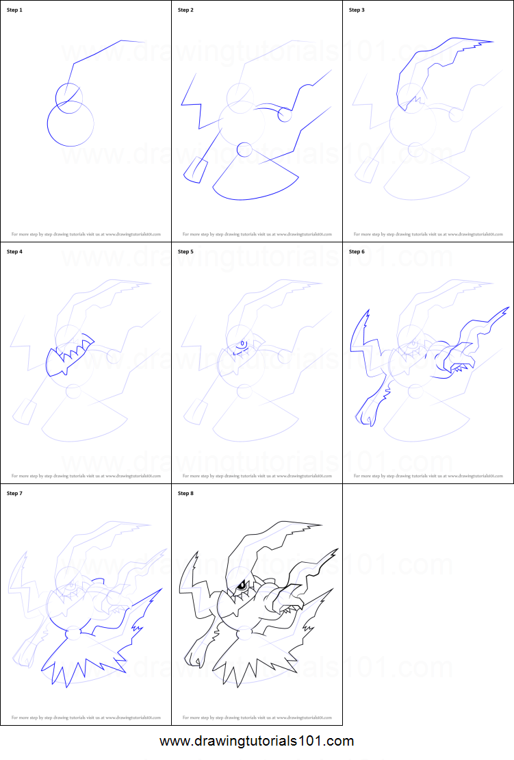 How To Draw Darkrai From Pokemon Printable Step By Step Drawing Sheet Drawingtutorials101 Com Pokemon Painting Pokemon Drawings Easy Pokemon Drawings