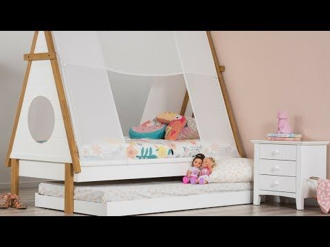 Hopi Single Teepee Bed | Amart Furniture