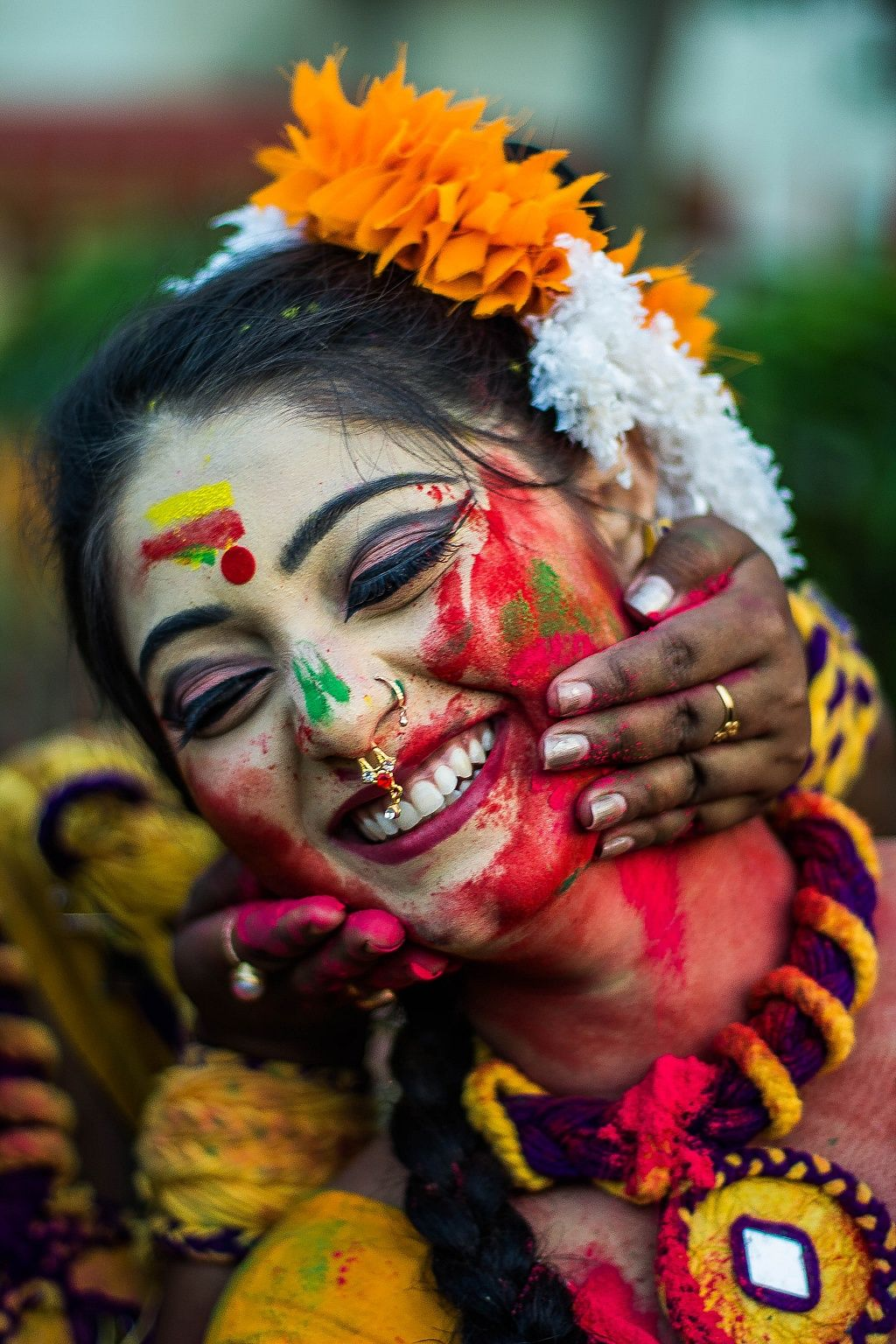 Image result for beautiful girl holi mages