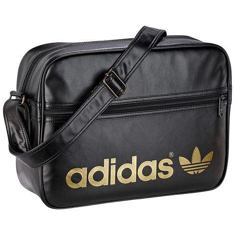 Adidas Originals Adicolor Backpack - Black Gold  019b0af845f5e
