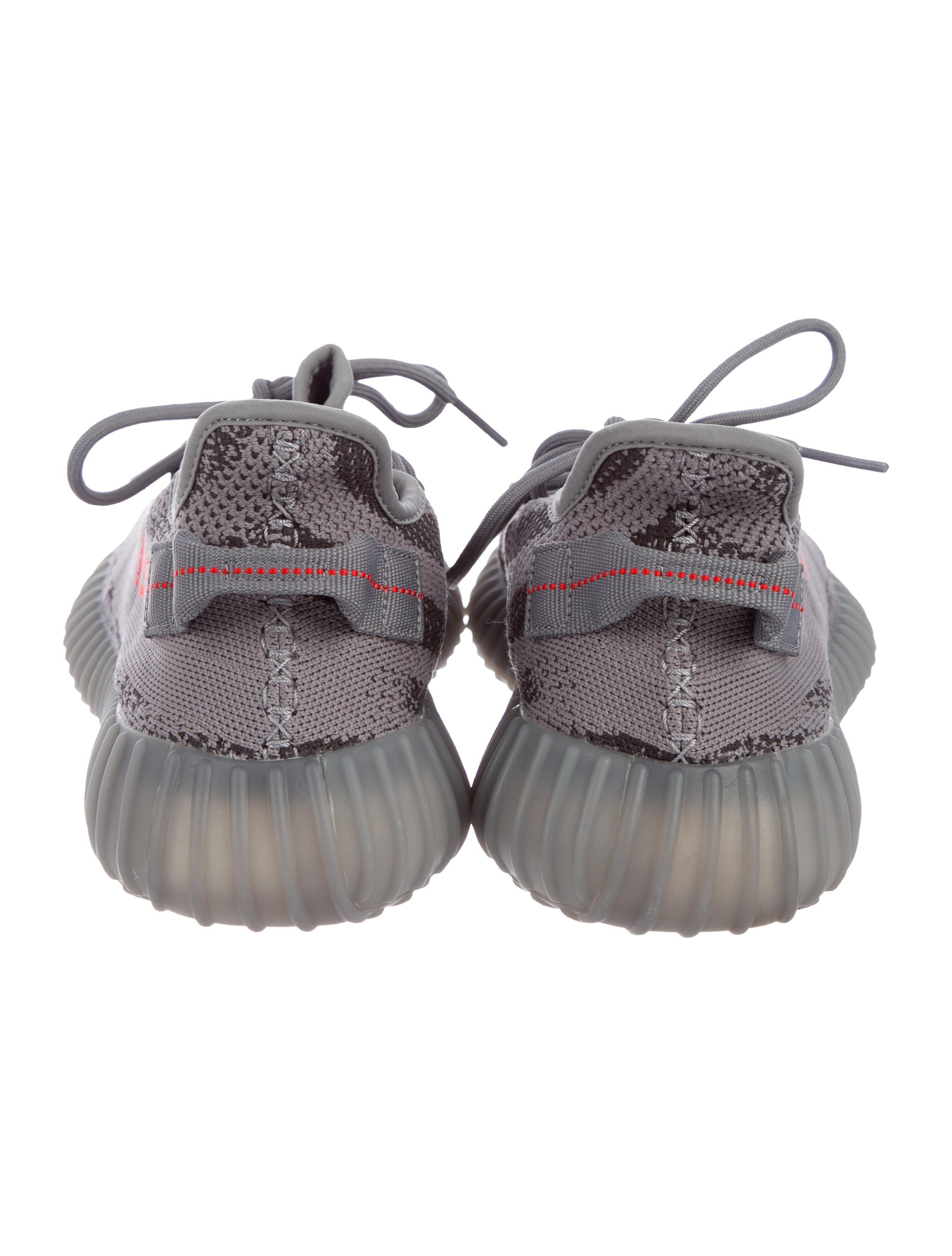 abdf35c98 From the Fall 2017 Release. Men s Beluga Primeknit Yeezy for Adidas 350 V2  Boost round-toe low-top sneakers with intarsia pattern throughout