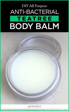 DIY all purpose anti-bacterial tea tree body balm is a body salve that is multi-purpose in its usage and also moisturizing in nature thus making it a body balm apt for winters. We can use for rough skin, elbows, feet and soles and also use it on mosquito bites and on Pahal when she complains of itchiness due to dry skin. #Skin #Moisturizing