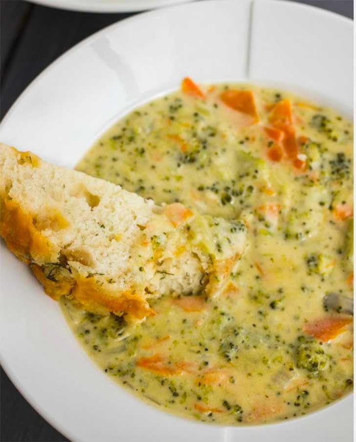 Recetas De Cocina Con Brocoli | Aprende A Cocinar Una Cremosa Sopa De Brocoli Y Olvidate De Las