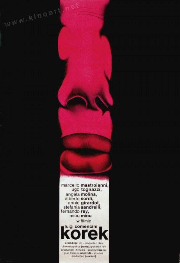 Traffic Jam (Luigi Comencini, 1979) Polish design by Wieslaw Rosocha