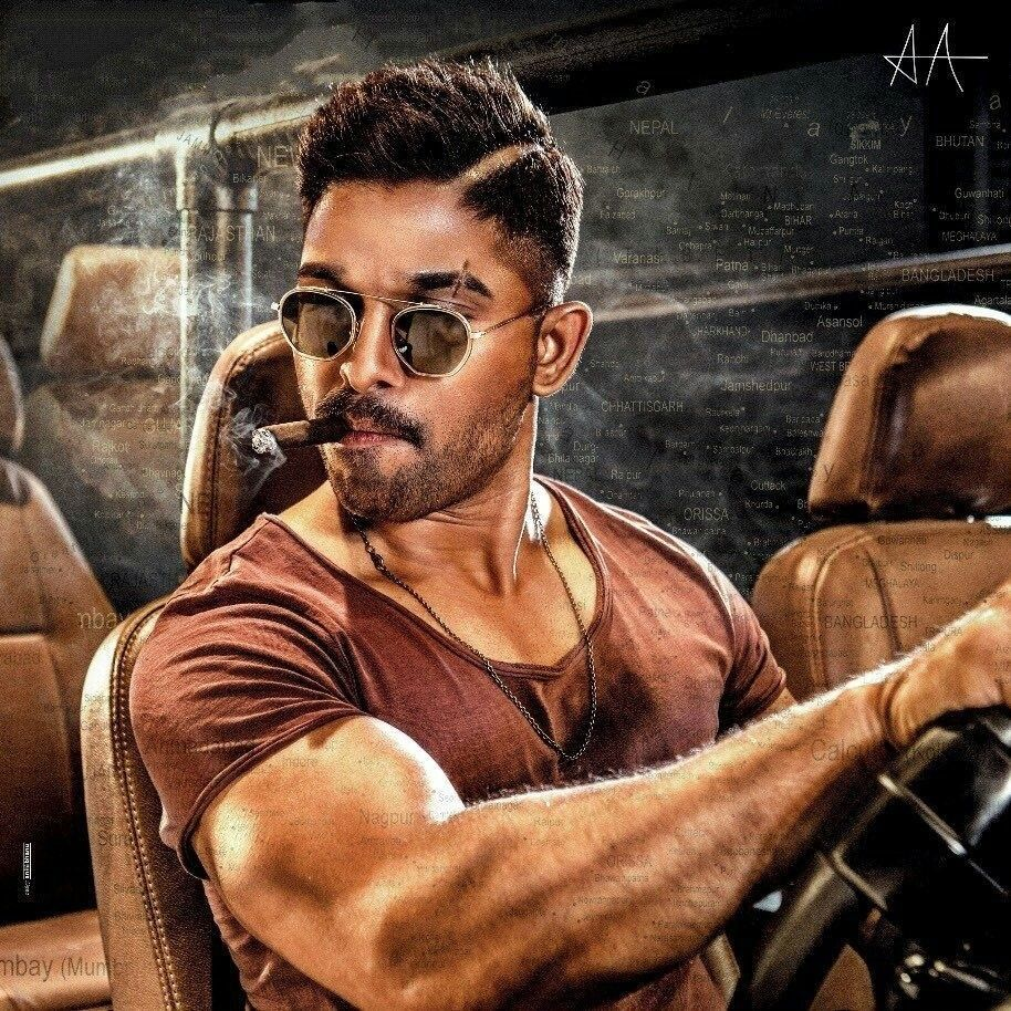 Allu Arjun Hd Wallpaper,staylish Star Images, Hairstyle