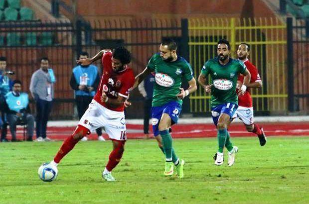 مشاهدة مباراة الاهلي ومصر المقاصة بث مباشر يلا كورة اون سبورت