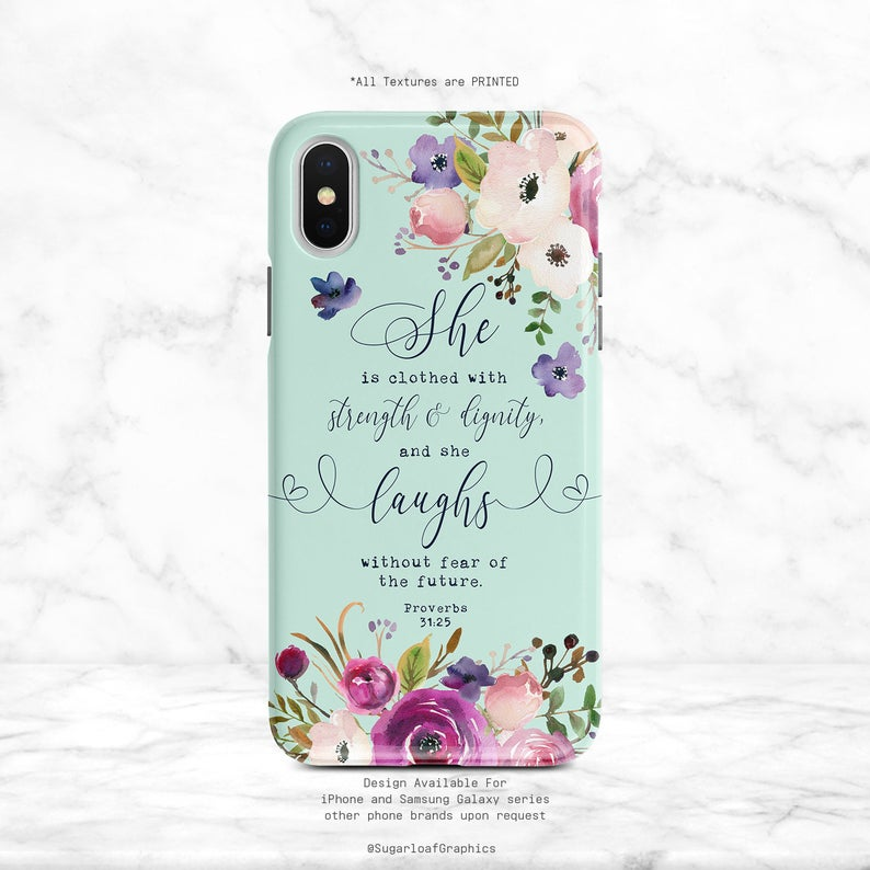 Proverbs 3125 Phone Case Bible Verse Christian Quote