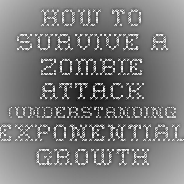 How to Survive a Zombie Attack (understanding exponential growth and ...