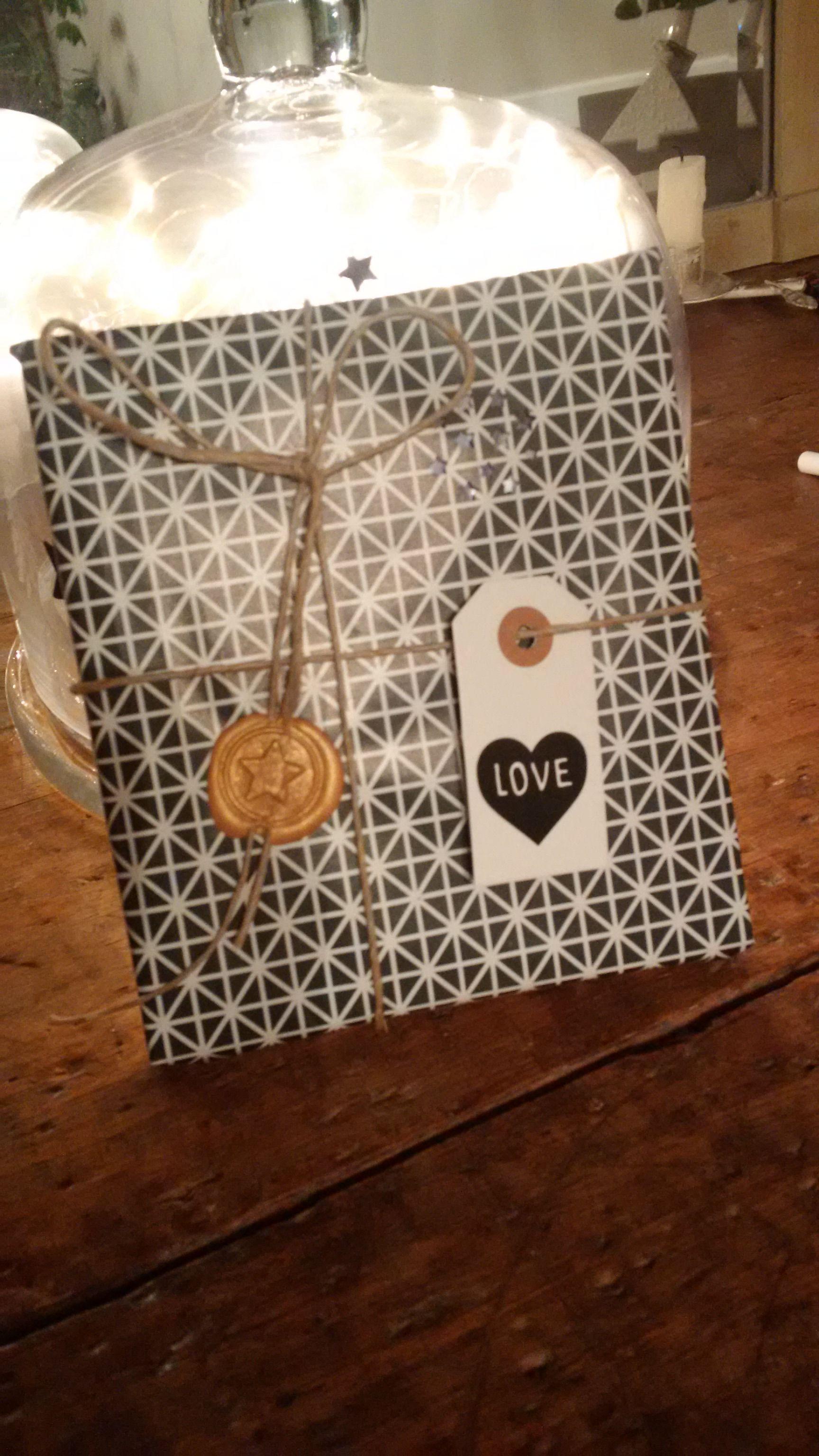 DIY Paquet cadeau personnalisé /gift wrapping Paquet