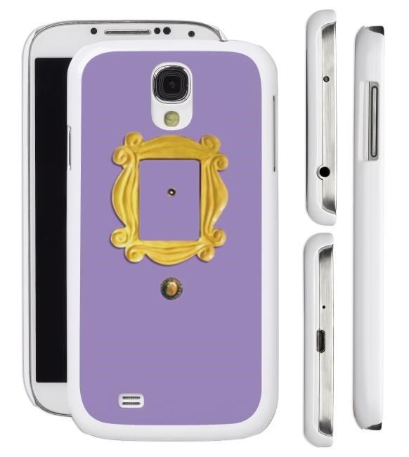 details about new friends peephole frame samsung galaxy s5 s4 s3 cell phone case cover tv show