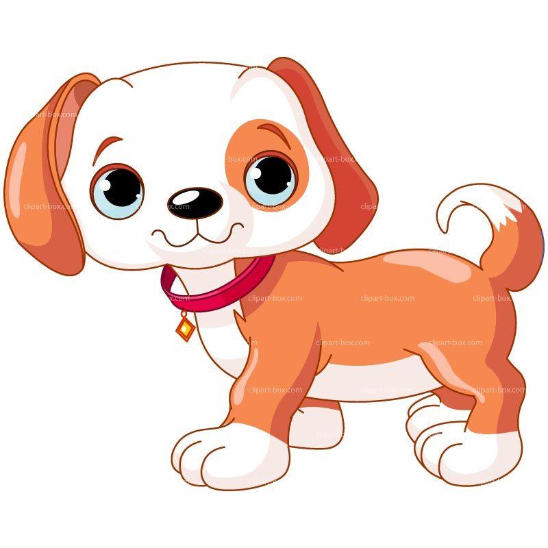 CLIPART DOGGY CARTOON STYLE Royalty free vector design