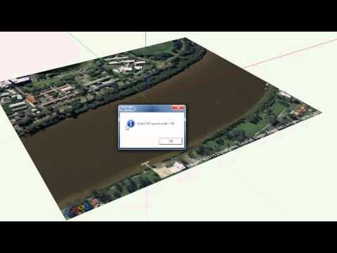 Create Toposurface With Sketchup Pro And Revit Revit