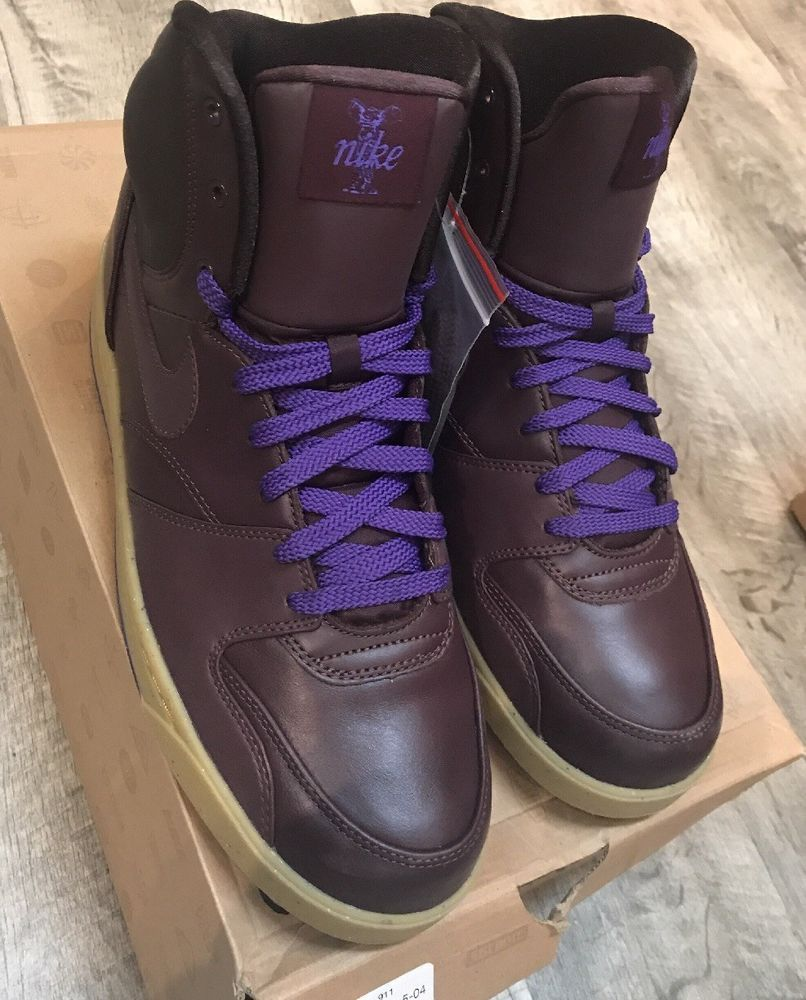 ... Nike RT1 High Size 10.5 Mahogany-Purple Brown New Never Worn 90 retail  Size ... 6067b4d37