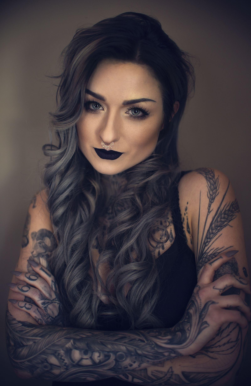 Pin by Johanna Elena on Hair Girl tattoos, Ryan ashley