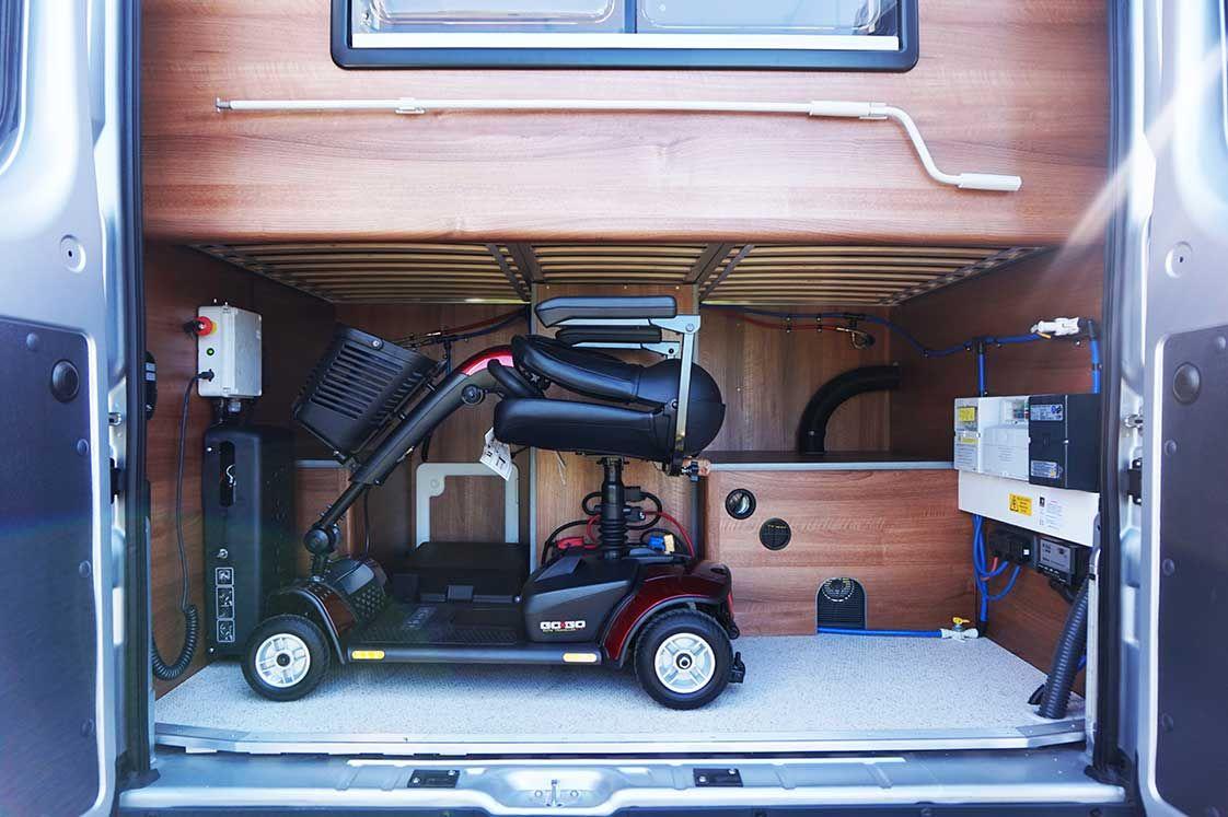 Liberation Large Rear Garage Motorhome, Van life, Vans