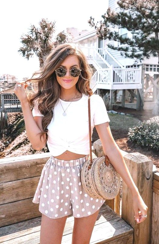 25 Best Inspiring Cute Summer Outfits For Girl